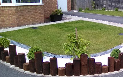 Artificial lawn and turfing Podington